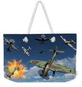 German Ju 87 Stuka Dive Bombers Weekender Tote Bag