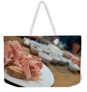 German Lunch Weekender Tote Bag