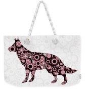 German Shepherd - Animal Art Weekender Tote Bag
