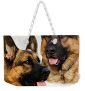 German Shepherd Collage Weekender Tote Bag