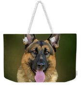 German Shepherd Portrait II Weekender Tote Bag