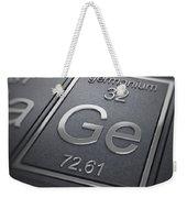 Germanium Chemical Element Weekender Tote Bag