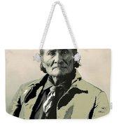 Geronimo As Photographed By A. Rinehart Omaha Nebrasks  1898-2013.  Weekender Tote Bag