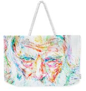 Gerry Mulligan - Portrait Weekender Tote Bag