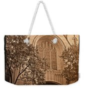 Get Me To The Church Weekender Tote Bag
