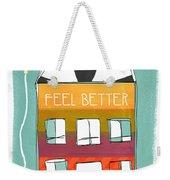 Get Well Card Weekender Tote Bag by Linda Woods
