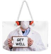 Get Well Weekender Tote Bag