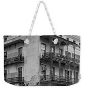 Gettin' By In New Orleans Bw Weekender Tote Bag