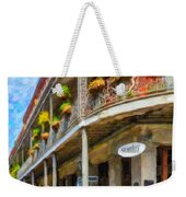 Getting Around The French Quarter - Watercolor Weekender Tote Bag