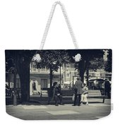 Getting The Latest News Weekender Tote Bag