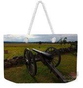 Gettysburg Battlefield Historic Monument Weekender Tote Bag by James Brunker