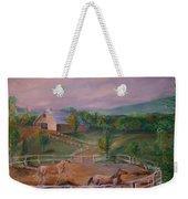 Gettysburg Farm Weekender Tote Bag
