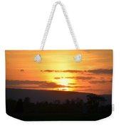 Gettysburg Sunset Weekender Tote Bag