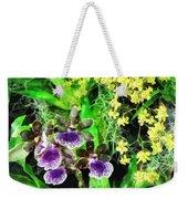 Geyser Jaimie And Golden Fantasy Orchids Weekender Tote Bag