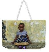 Ghanaian Child Weekender Tote Bag