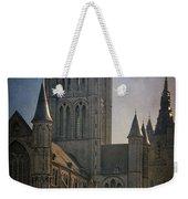 Ghent Skyline Weekender Tote Bag