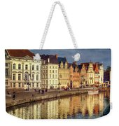 Ghent Waterfront Weekender Tote Bag