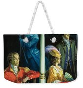 Ghost At The Theatre Weekender Tote Bag