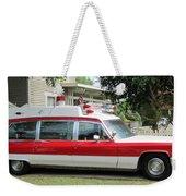 Ghost Buster Style Ambulance Weekender Tote Bag