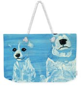 Ghost Dogs Weekender Tote Bag