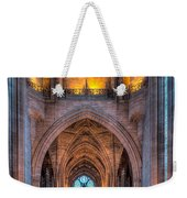 Ghost In The Cathedral Weekender Tote Bag