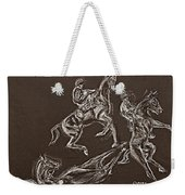 Ghost Riders In The Sky Weekender Tote Bag