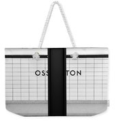 Ghost Station Weekender Tote Bag