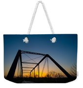 Ghost Town Bridge Weekender Tote Bag