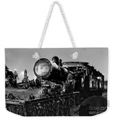 Ghost Train In Paranapiacaba - Locobreque Weekender Tote Bag