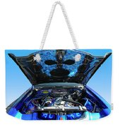 Ghost Under The Hood Weekender Tote Bag