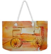 Ghost Wagon Weekender Tote Bag