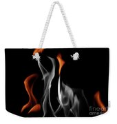 Ghostly Flames Weekender Tote Bag