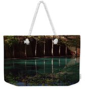 Ghostly Quiet Weekender Tote Bag