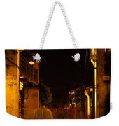 Ghostly Street Weekender Tote Bag