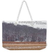 Ghosts Of Fallen Leaves Weekender Tote Bag