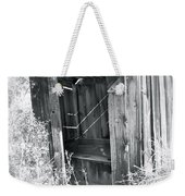 Ghosts Of The Outhouse Rocky Mountains Weekender Tote Bag
