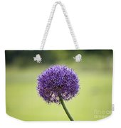 Giant Allium Flower Weekender Tote Bag