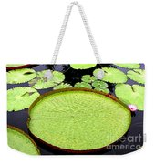 Giant Amazon Lily Pads Weekender Tote Bag