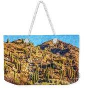 Giant Cordon Cactus Weekender Tote Bag