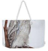Giant Eagle Owl Weekender Tote Bag