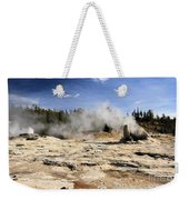 Giant Geyser Group Weekender Tote Bag