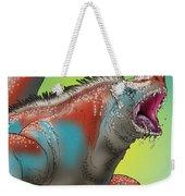 Giant Marine Iguana Weekender Tote Bag