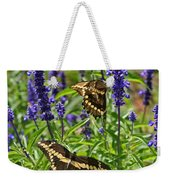 Giant Swallowtail Butterfly Couple Weekender Tote Bag