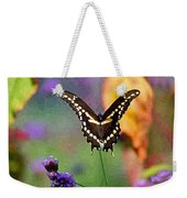 Giant Swallowtail Butterfly Photo-painting Weekender Tote Bag