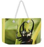 Giant Three-horned Beetle Weekender Tote Bag