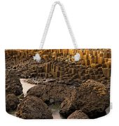 Giants Causeway, Antrim Coast, Northern Weekender Tote Bag