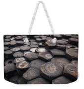 Giant's Causeway Pillars Weekender Tote Bag by Inge Johnsson
