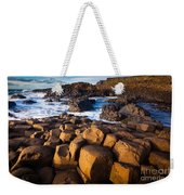 Giant's Causeway Surf Weekender Tote Bag