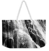 Gibbon Falls Weekender Tote Bag by Bill Gallagher