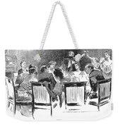 Gibson: Dinner Party, 1894 Weekender Tote Bag
